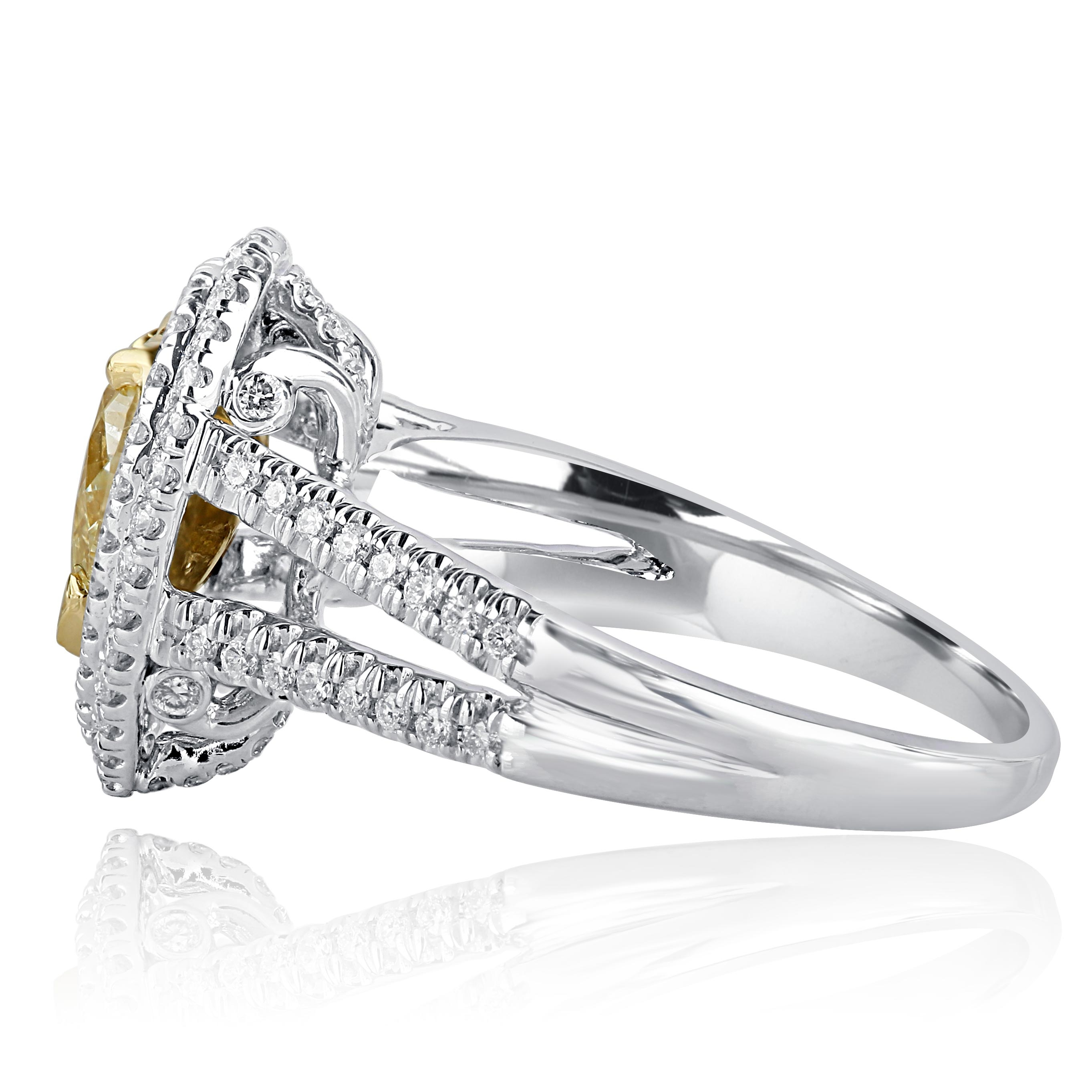 aspire rings adh products diamonds diamond view engagement ring shaped wedding halo round
